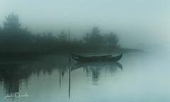 Misty Morning - Ria de Aveiro (paulosilva3) Tags: bw mist canon vintage de landscape eos lee l filters grad f4 ria aveiro waterscape 6d polariser murtosa 24105mm