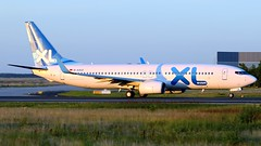 FRA-22.07.2012-034 (mifr1977) Tags: airport frankfurt flughafen spotting fra spotter eddf daxle boeing7378q8 xlairwaysgermany