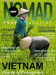 Vietnam Edition - Digital Nomad Travel Magazine (DigitalNomadMag) Tags: travel magazine workers rice paddy vietnam cover fields sapa ninhbinh travelphotography hagiang culturaltravel