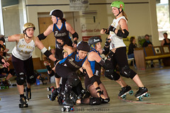 scdg_vs_badg_L3404311 1 (nocklebeast) Tags: ca usa scottsvalley rollerderby rollergirls skates allstars badg thepenthouse scdg boardwalkbombshells