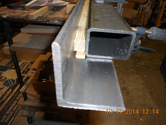 Hank Kennedy table saw project - diy guide rails 01