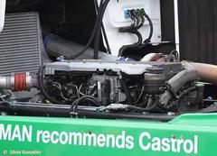 motor de camión
