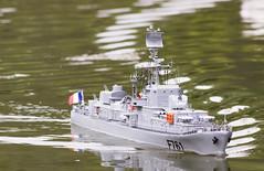 escorteur (1) (janssen.bruno) Tags: eau bateaux lacs guerre maquettes modélisme navires croiseur