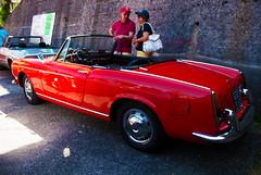 Fiat 1500 Spider (1964) (maximilian91) Tags: italy spider italia fiat liguria oldcars vintagecars italiancars fiat1500 fiat1500spider montoggio