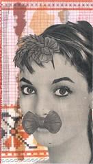tresses (kurberry) Tags: collage cutpaste vintageephemera