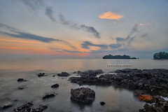 Pengkalan Balak Sunset | Scene 1 (Shamsul Hidayat Omar) Tags: sunset tourism beach landscape photography high interesting nikon scenery dynamic shoreline places scene malaysia omar range hdr pulau melaka d3 balak hidayat greatphotographers shamsul pengkalan konek photoengine oloneo