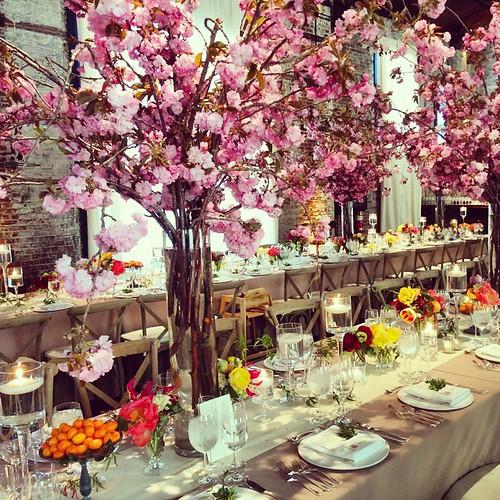 #beautifulwedding #brooklyn #greenbuilding #weddingnyc #wedding #centerpiece #rustic