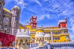 Sintra Palacio de la Pena (Uccio81 ) Tags: sintra palacio de la pena fotocamera sony dslra580 b ob sigma 18200 3563 dc