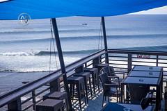 Views overlooking the famous surfing beach, Uluwatu. (wrightontheroad) Tags: surf uluwatu surftrip surfing waves kutaselatan bali indonesia