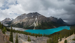 Peyto Lake Panoramic (FollowingNature) Tags: followingnature peytolake panoramic banffnationalpark ab canada