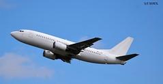 9H-AJW BOEING 737-300 (douglasbuick) Tags: aircraft boeing b737300 9hajw aerovista malta egph edinburgh airport aviation scotland flickr airliner airlines airways jet plane nikon d40 takeoff