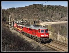 DB Cargo_BR 233 321-8_Knigstein_Sachsen_DE (ferdahejl) Tags: de sachsen knigstein dbcargo br2333218