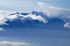 West Maui mountains from Haleakala summit (heartinhawaii) Tags: maui haleakala westmauimountains westmauimountainsfromhaleakala abovetheclouds haleakalasummit fog foggy mist misty cloudy moody serene upcountry summit volcano mauivolcano hawaii mauiinnovember nikond3300 landscape