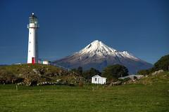 Left, Right or Detached? (hapulcu) Tags: newzealand northisland oceania pacific taranaki lighthouse volcano winter