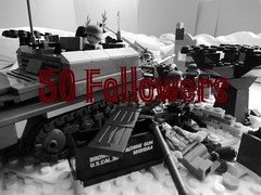 Thanks For all the support! (Brick Lieutenant) Tags: lego ww2 americans germans miltary brickarms legoww2 legomiltary