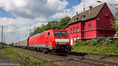 DB 189 089 on E 45719 to Gremberg (37001 overseas) Tags: ratingen ratingenlintorf db deutschebahn dbschenker dbcargo class189 1890896 189089 ez45719 kijfhoek gremberg