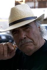 Claude (Osservazioni al Mercato) Tags: portrait ritratto uomo facce panasonic lumix lx100 vintage allaperto baffi