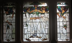 Arts and Crafts stained glass window, Laing Art Gallery,  Newcastle upon Tyne (John Steedman) Tags: artsandcraftsstainedglasswindow laingartgallery newcastleupontyne artsandcrafts stainedglasswindow stainedglass window england uk