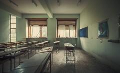 Hitzefrei (Nils Grudzielski) Tags: school decay forgotten urbanexploration musik schule abandonedplaces marode lostplaces morbide eductaion verlasseneorte