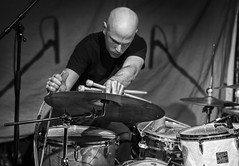 ine ODwyer-Chris Corsano Duo (Dawid Laskowski) Tags: black gig live music musician nikon photography show stage london dalston cafeoto ineodwyer chriscorsano duo drums harp aineodwyer