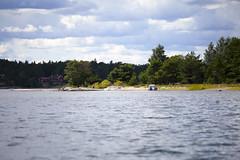 Fin strand norr om Runmar (Anders Sellin) Tags: skrgrd svartlga hav ro sverige swede sweden tova wim archipelago baltic generation rodd roddbt row sea sommar sport stockholm vattenwater stersjn