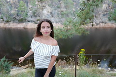 The lake and the flower(s) (Frederic DIDIER) Tags: portrait face facesofportraits young yeux eyes bokeh beyondbokeh leica leicaq qtype116 couleur lips lvre nicegirl teenager lumiere light france regard glance