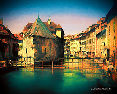 Digital Oil Painting of an Abandoned Castle on an Annency Canal by  Charles W. Bailey, Jr. (Charles W. Bailey, Jr., Digital Artist) Tags: canal castle annecy hautesavoie auvergnerhonealpes lakeannecy france europe photoshop photomanipulation topaz topazlabs topazdejpeg topazdenoise topazclarity topazlenseffects topazrestyle topazimpression topazglow alienskin alienskinsoftware alienskinexposure topazremask rembrandt oilpainting painting art fineart visualarts digitalart digitalartist charleswbaileyjr