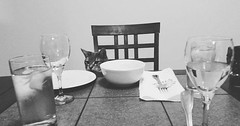 My cat was waiting on me for dinner. via http://ift.tt/29KELz0 (dozhub) Tags: cat kitty kitten cute funny aww adorable cats