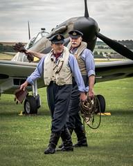 20160709-flying_legends-3932.jpg (John J Buckley) Tags: imperialwarmuseum england uk wwii reenactors airshow flyinglegends duxford airplanes