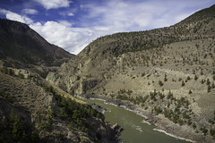 Fraser River Canyon (Bluesilver85) Tags: fraser river canyon britishcolumbia canada highway 99 landscape landscapes paesaggio paesaggi fiume mountains rocks roccia sky clouds explore travel enjoy life fun mountain amazing view exploration nature natura