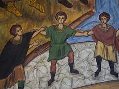 Bukarest (Rumnien), Malerei in einer orthodoxen Kirche (bleibend) Tags: 2016 bukarest bucuresti bucharest kunst malerei orthodox kirche kulturgut olympus omd em5 olympusomd olympusem5 mft m43 m43cameras