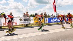 2016-07-30 EK Skeeleren Steenwijk (86a) (Peter Donderwinkel) Tags: ekskeeleren2016steenwijk inlineskating seniorladies junioraladies ek klimvansteenwijk schaatsennl kpn skeeleren outdoor sport event speed race canon