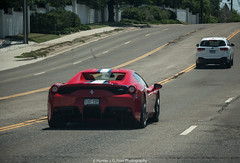 On The Road (Hunter J. G. Frim Photography) Tags: supercar colorado ferrari 458 speciale aperta specialea v8 italian convertible red rosso ferrari458specialeaperta ferrari458specialea rare