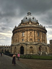(breakbeat) Tags: radcliffecamera oxford university cloud stormy sky architecture iphone