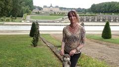 Around castles / Autour de chteaux (french_lolita) Tags: multicolored top black pants
