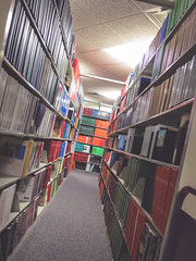 library (jojoannabanana) Tags: 3662016 books canonpowershot library perspective psychological s100