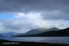 Loch Linnhe & Garbh Bheinn (mpw1421) Tags: nikon d60 scotland scottishhighlands lochlinnhe garbhbheinn loch cloud clouds sky