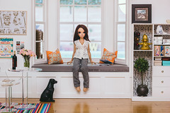 Chloe Minifee by Fairyland (Sharon Wright Photography) Tags: diorama minifee chloe fairyland loft doll bjd ball jointed day apartment collector dollpics sharon wright fashion editorial