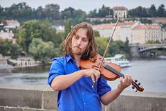 DSCF8321 (mates215) Tags: musician charlesbridge bridge prague people public violin music concert