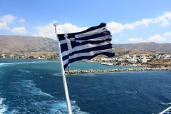 E L L A D A (elina.tsamigos) Tags: ellada greece grece greek island andros flag blue white seaview seaporn sea mer thalassa summer holidays