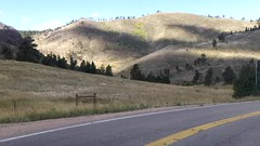 Views from Flagstaff Road in Boulder, Colorado (lhboudreau) Tags: boulder colorado outdoor outdoors landscape landscapes hill hillside people mountainside sky overlook flagstaffroad flagstaffrd flagstaffmountain drive mountain mountains grossdam grossreservoir rock rocks mountainroad video windingroad pullouts overlooks picnicspot picnictable