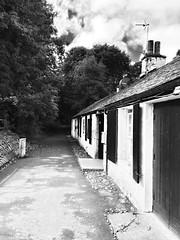 Cumbernauld Theatre (frankhimself) Tags: drama glasgow scotland paths walks surroundedbytrees forrest lighting blackandwhite bw oldbuilding plays musicals music  theatre cumbernauld