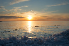 20150331-DSC_5611 (the Mack4) Tags: blue sunset orange newyork ice water clouds march webster 2015