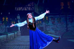 Anna's Joy (Freddy Buzz) Tags: anna frozen disney disneyworld waltdisneyworld lowcontrast infocus mediumquality hollywoodstudios