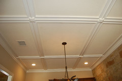 Fred. Dining ceiling