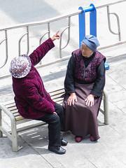 Mamies tibétaines