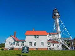 Whitefish Point Light Station (1849) (Selector Jonathon Photography) Tags: lighthouse michigan lakesuperior whitefishpoint lightstation whitefishpointlightstation