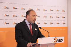 José Matos Correia em declaração à imprensa