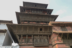 Woodwork on the Basantapur Tower