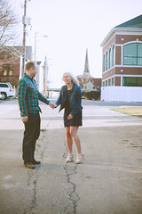 Carrie & Taylor 8 (TheLadyFace) Tags: trees wedding white black laura cute love smile contrast lens happy photography engagement couple bokeh low h flare carrie curve elliot appy tone lre